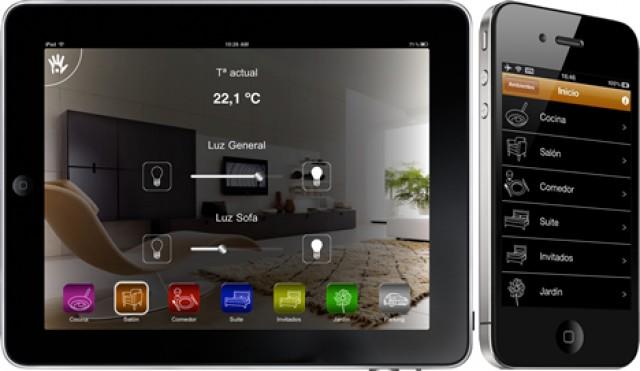 5e20bb41ddf Nueva aplicación para controlar todo en casa a través del iPad y el iPhone  como un mando a distancia universal