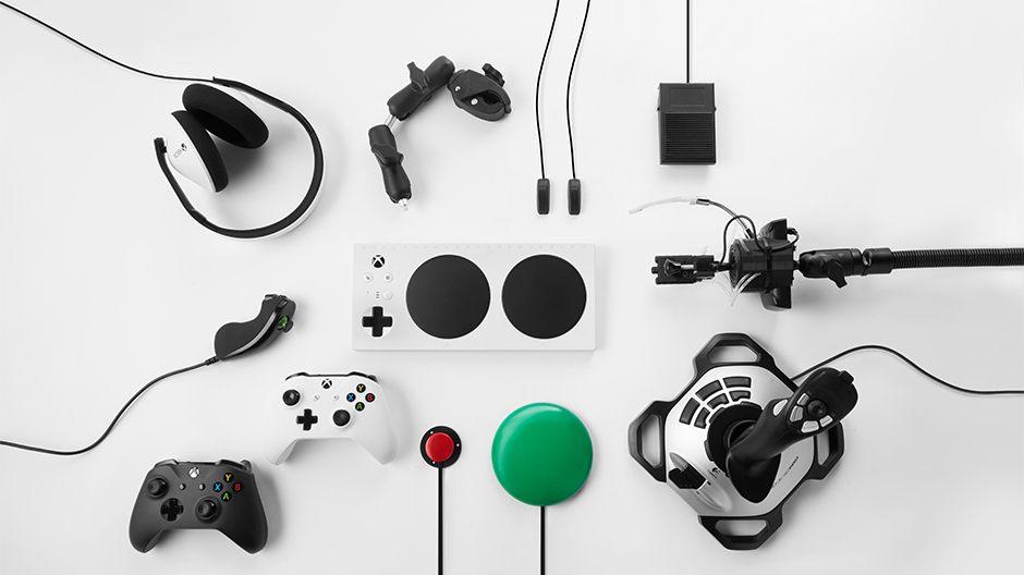 el nuevo Xbox Adaptive Controller