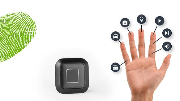 Se puede usar cada uno de los dedos al momento de controlar