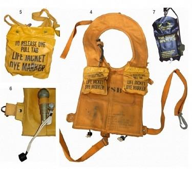 chaleco salvavidas que se activa gracias a un mando a distancia
