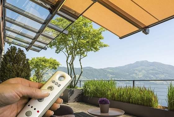 mando a distancia para abrir el techo solar