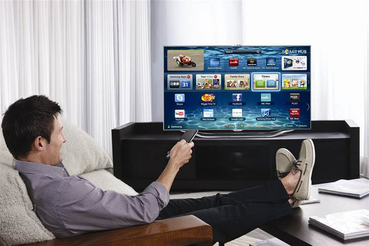 smart-tv mando a distancia